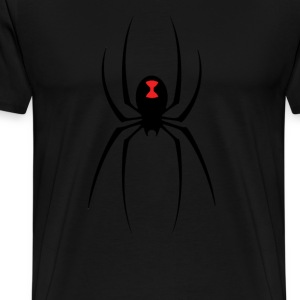 Black Widow Spider T-Shirts - Men's Premium T-Shirt