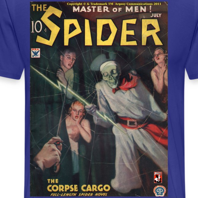 The Spider July 1934
