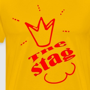 The Stag Bachelor party - Men's Premium T-Shirt