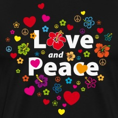 love_and_peace T-Shirts