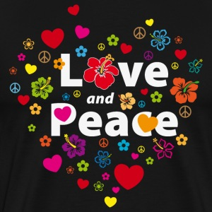 love_and_peace T-Shirts - Men's Premium T-Shirt