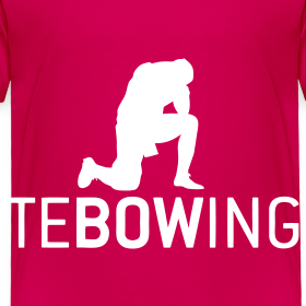 Design ~ Toddler Pink Tebowing