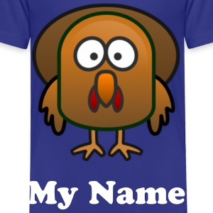 Thanks Giving Turkey Toddler T-shirt - Toddler Premium T-Shirt