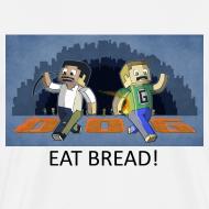 Design ~ EAT BREAD! - White Heavy Weight
