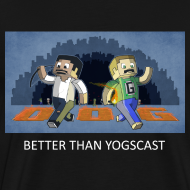Design ~ BETTER THAN YOGSCAST! - Black Heavy Weight