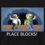 Design ~ PLACE BLOCKS! - Black Heavy Weight