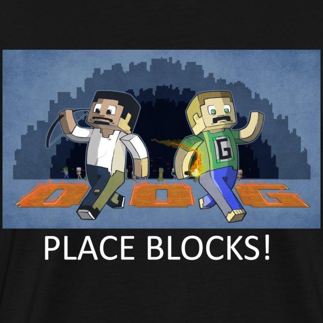 PLACE BLOCKS! - Black Heavy Weight