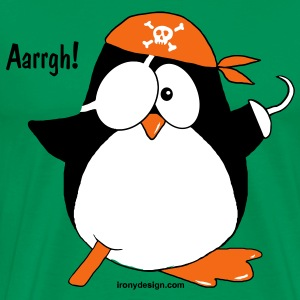 Cute Pirate Penguin - Men's Premium T-Shirt