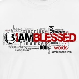 Blessed N Every Area - Men's Premium T-Shirt