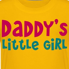 DADDY's little girl Kids' Shirts