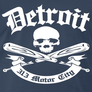 Detroit 313 Motor City - Men's Premium T-Shirt