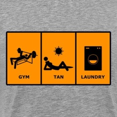 GTL Gym Tan Laundry Tee