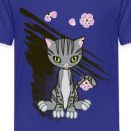 Design ~ Cute Kitten Ladies T-shirt