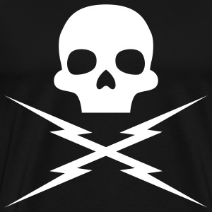 Death Proof: Stuntman Mike Skull T-Shirts - Men's Premium T-Shirt