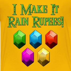 I Make It Rain Rupees! Zelda Kids' Shirts - Kids' Premium T-Shirt