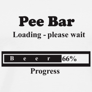 pee bar - Men's Premium T-Shirt