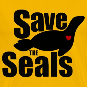 Save The Seals - Men's Premium T-Shirt