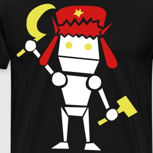 Commie Robo - Men's Premium T-Shirt