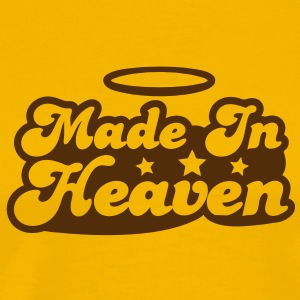 MADE IN HEAVEN design with halo cute! T-Shirts - Men's Premium T-Shirt
