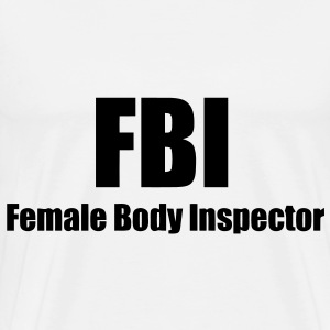 FBI T-Shirts - Men's Premium T-Shirt