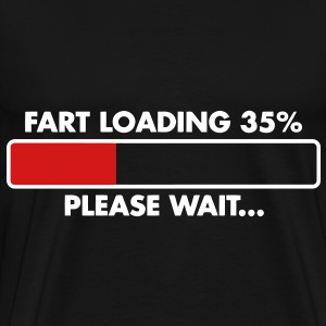 Fart Loading T-Shirts - Men's Premium T-Shirt