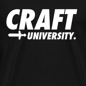 Craft University  Parody - Men's Premium T-Shirt