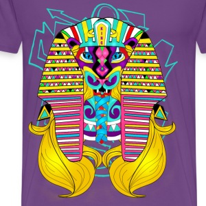Psychadelic Beast King - Men's Premium T-Shirt