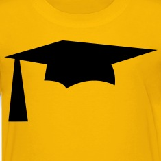 mortar pestle Graduation hat simple Kids' Shirts