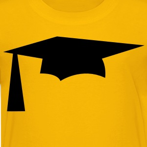 mortar pestle Graduation hat simple Kids' Shirts - Kids' Premium T-Shirt