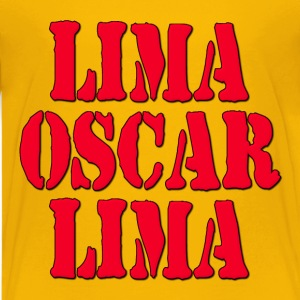 LOL Lima Oscar Lima Laugh Out Loud Kids' Shirts - Kids' Premium T-Shirt