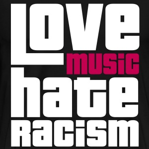 Love Music Hate Racism T-Shirts - Men's Premium T-Shirt