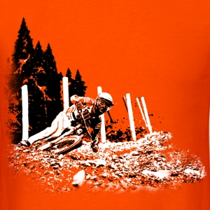 Downhill turn - Men's T-Shirt