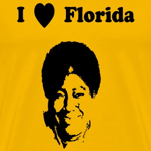 I heart Florida - Men's Premium T-Shirt