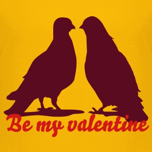 Valentines Dove Couple_2_1c Kids' Shirts - Kids' Premium T-Shirt