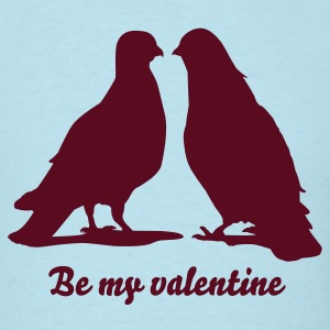 Valentines Dove Couple_2_1c T-Shirts - Men's T-Shirt