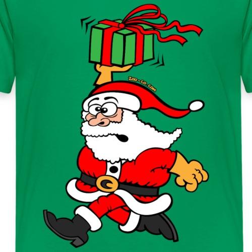 Santa Claus in a Hurry
