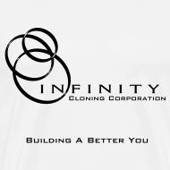 Design ~ Infinity Cloning Men's 3XL T-Shirt
