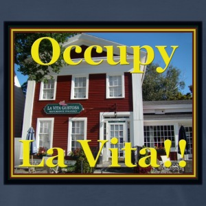 Occupy La Vita - Men's Premium T-Shirt