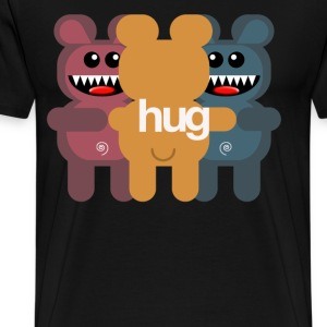 BEAR HUG 3 T-Shirts - Men's Premium T-Shirt