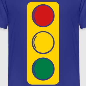 traffic lights red amber and green Kids' Shirts - Kids' Premium T-Shirt