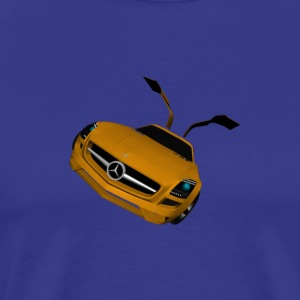 mercedes_sls_amg - Men's Premium T-Shirt