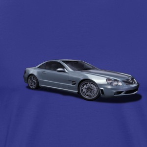 mercedes sl 65 amg black series silver - Men's Premium T-Shirt