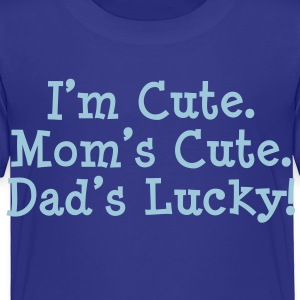 Dad's Lucky Baby & Toddler Shirts - Toddler Premium T-Shirt