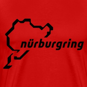 ring nurburgring germany - Men's Premium T-Shirt