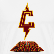 Design ~ Piketoon Captain Chaos Burgundy Logo