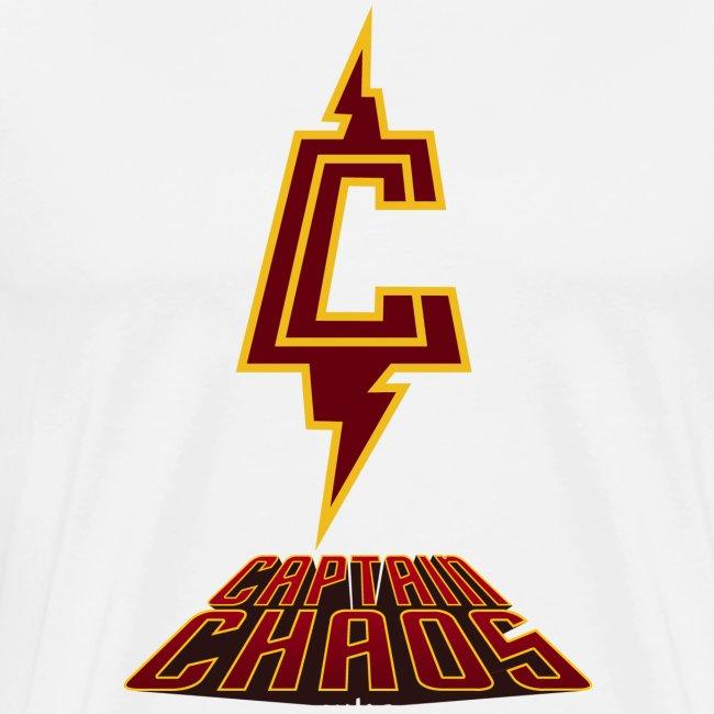 Piketoon Captain Chaos Burgundy Logo