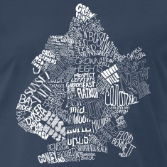 Brooklyn Neighborhoods T-shirt