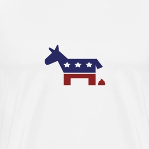 Democrat poop - Men's Premium T-Shirt