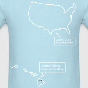 Conversation Between Hawaii and The United States T-Shirts - Men's T-Shirt