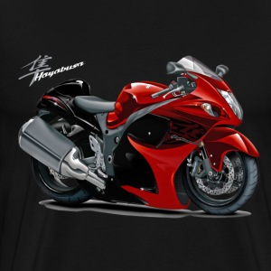 Suzuki Hayabusa Red Bike T-Shirts - Men's Premium T-Shirt